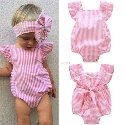Cotton Newborn Baby Boy Bodysuit Romper Jumpsuit Clothes Out newborn baby cotton romper jumpsuit