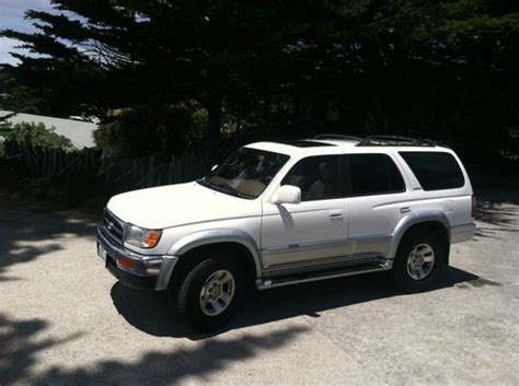 Toyota 4runner Diesel Purchase Used 1998 Toyota 4runner Diesel Limited Sport