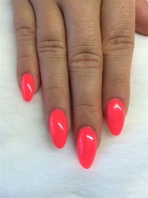 Nail And More by Acrylic Nails With Gelish Brights More Almond