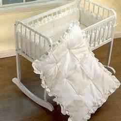 Baby Bedding Sets For Cradles Waffle Fleece Cradle Bedding Size 18x36