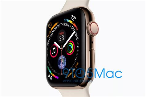 Apple Series 4 200 by Apple Series 4 Leaks Out Best Looking Apple Smartwatch Yet Phonearena