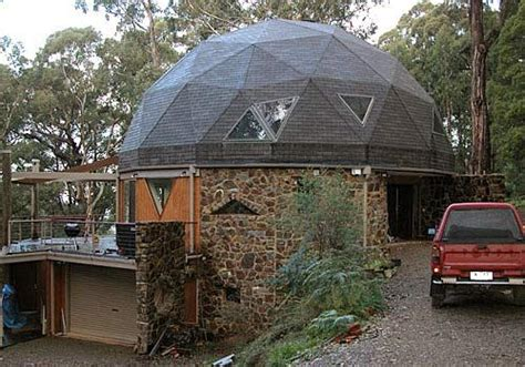 geodesic dome home hexagonal dome home homes pinterest