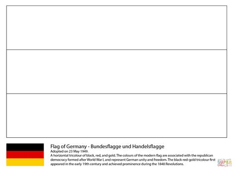 flag of germany coloring page free printable coloring pages