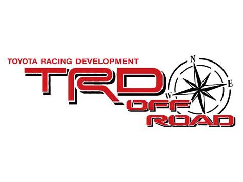 Toyota Racing Development 2 Toyota Trd Supercharged Decal Trd Racing Development