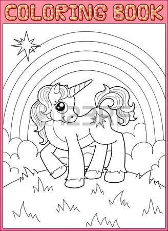 imagenes de unicornios bebes para colorear unicornio arco iris para colorear opticanovosti