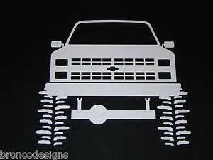 80 s chevrolet chevy truck blazer sticker decal 25 ebay