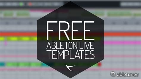 ableton live templates free free ableton live templates by abletunes abletunes