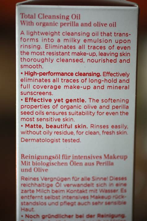 Total Detox Ingredients by Clarins Total Cleansing Review