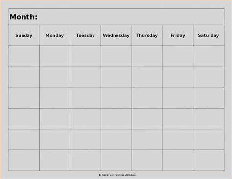 8 week calendar template 8 week calendar template business templated
