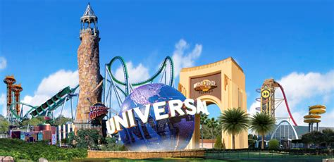 themes park in orlando 2 park 1 day universal orlando theme park tickets