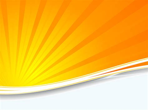 orange sunburst ppt backgrounds orange technology