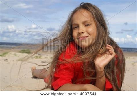 preteen models agency dolce stars preteen girl on beach image photo bigstock