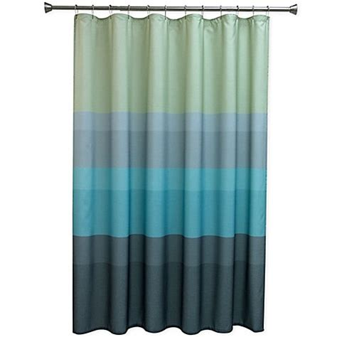textured shower curtain bacova textured layers shower curtain bed bath beyond