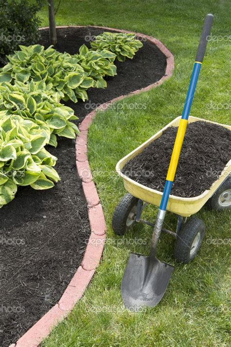 mulch beds mulch bed edging google search gardening pinterest