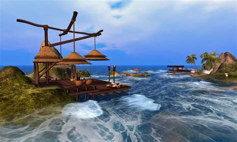 Caribbean resort second life