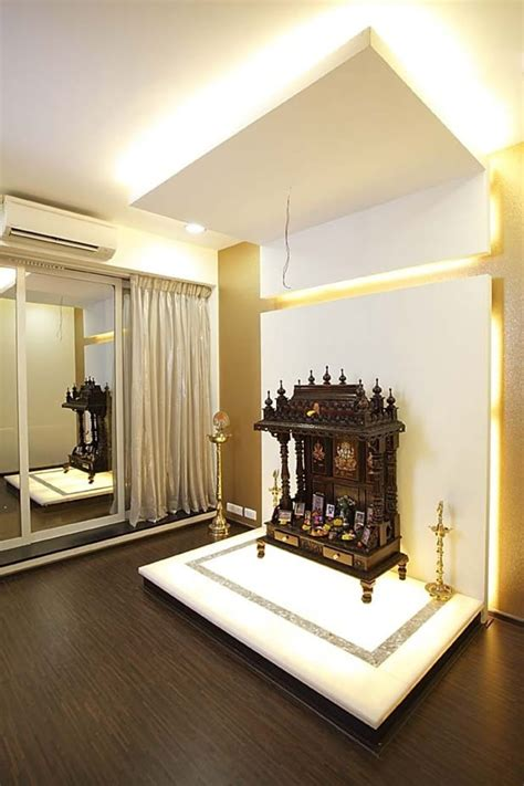 prayer room  wooden flooring  milind kapadia