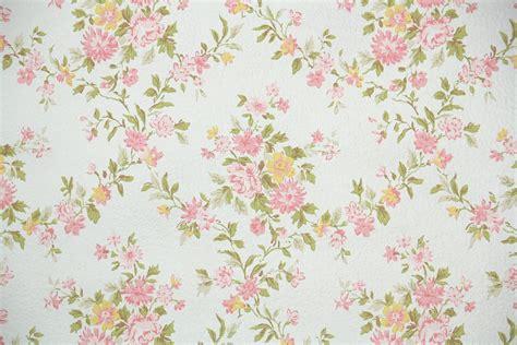 1930s Bathroom Design by 1960s Floral Vintage Wallpaper Hannah S Treasures
