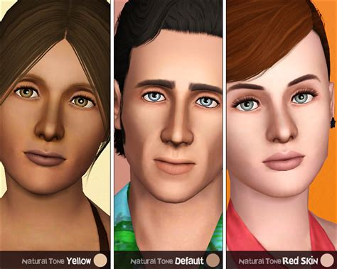 sims 4 default skin replacement mod the sims ultra plain faces default non default
