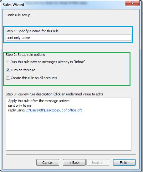 Out Of Office Message Outlook 2010 Template by How To Set Out Of Office In Outlook 2010 Esupport
