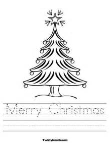 Free Coloring Pages Christmas Worksheet
