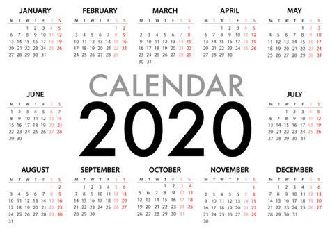 kalender voor  week start maandag eenvoudig ontwerpsjabloon premium vector