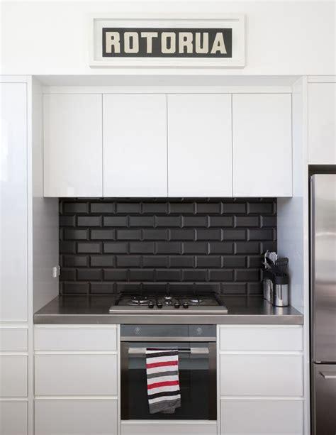 black splash kitchen square black kitchen splashback tiles google search