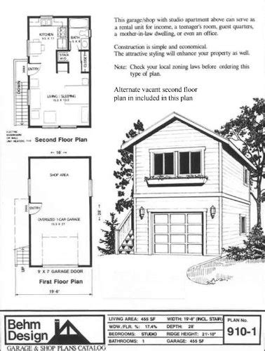 garage apartment plans one story garage plans one car two story garage with apartment