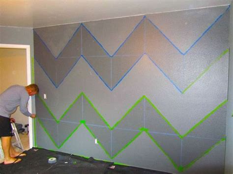 how to paint stripes on a bedroom wall best 25 chevron painted walls ideas on pinterest chevron bedroom walls chevron and
