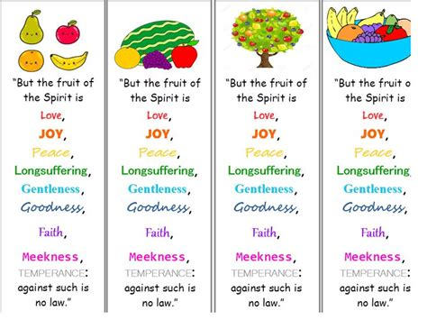 7 fruits of the spirit kjv 275 best images about ss fruits of the spirit on