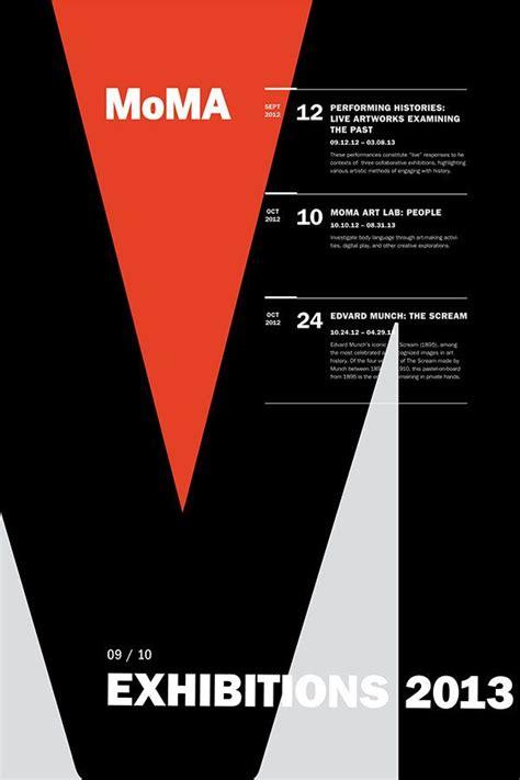 design poster exhibition moma exhibit poster series rebecca nolte poster