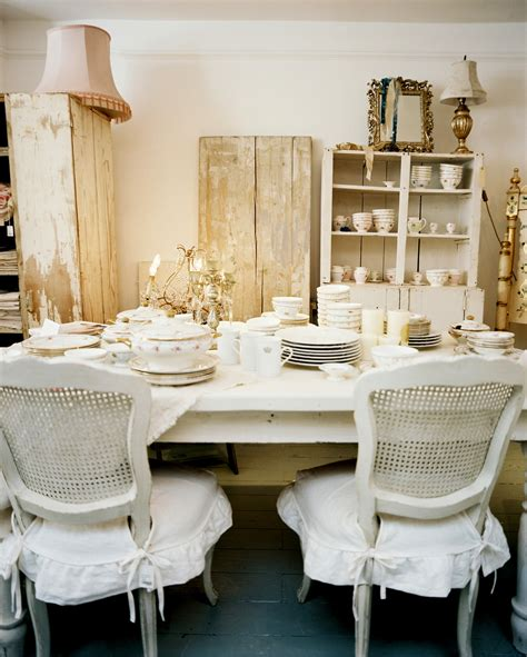 Shabby Chic Dining Room Chairs with Shabby Chic Dining Room Photos 12 Of 13