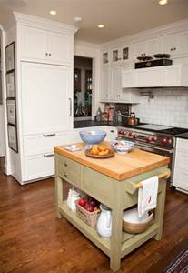 Kitchen With Small Island by 10 Small Kitchen Island Design Ideas Practical Furniture