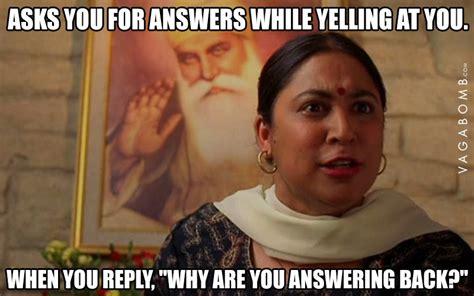 Desi Meme - 12 things every desi mom says sunday
