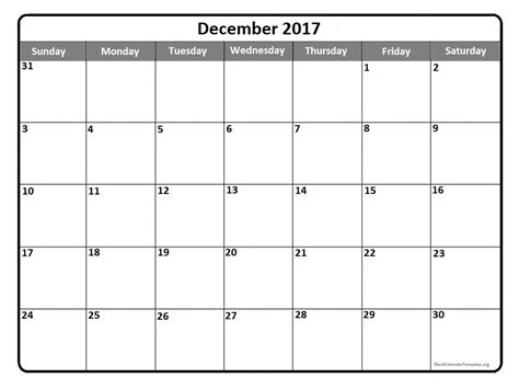 printable calendar month december 2017 december 2017 printable calendar yearly printable calendar