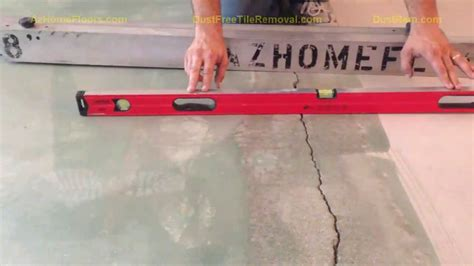 high or low spot accurately assess sub floors for proper concrete grinding and concrete