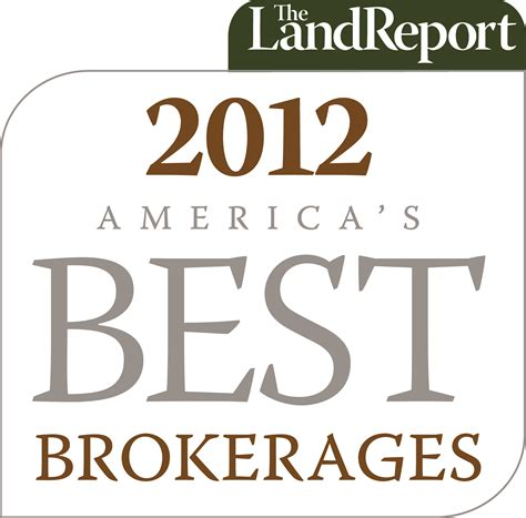 best brokerages quot america s best brokerages quot of 2012 by the land report