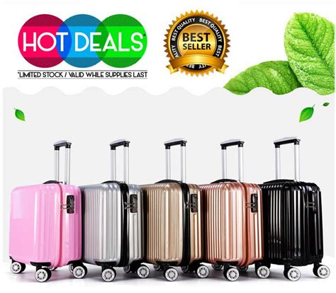 18 Inch Luggage Bag 18 inch abs pc travel luggage end 10 7 2018 2 15 am