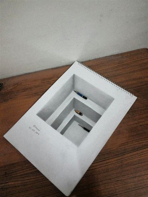 How To Make 3d Sketch On Paper - 25 best ideas about 3d drawings on 3d writing