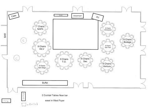 layout wedding venue bicoastal bride sweet seats seating chart venue layout