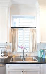Curtain Kitchen Window Best 25 Kitchen Window Treatments Ideas On Kitchen Window Treatments With Blinds