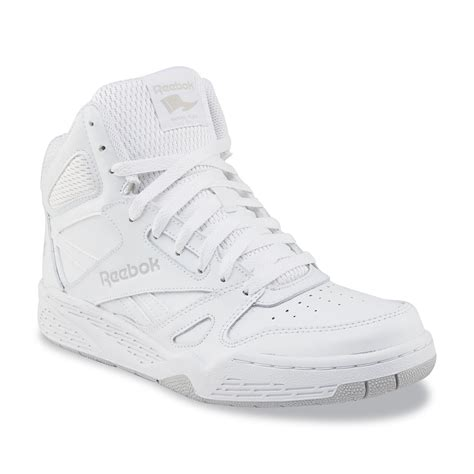 mens white high top sneakers reebok s royal bb4500 white high top basketball shoe