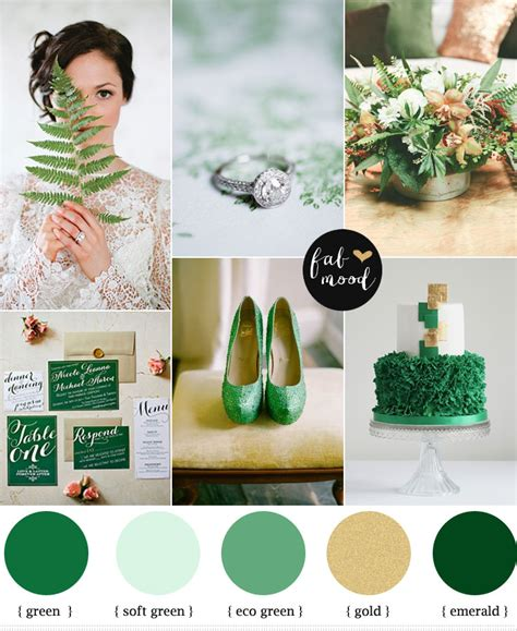 Peach Pantone by Emerald And Gold Wedding Colors Emerald Green And Gold