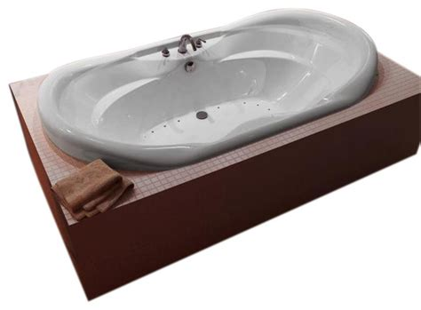 air jet bathtubs atlantis tubs 4170ial indulgence 41x70x23 inch oval air jetted bathtub traditional bathtubs