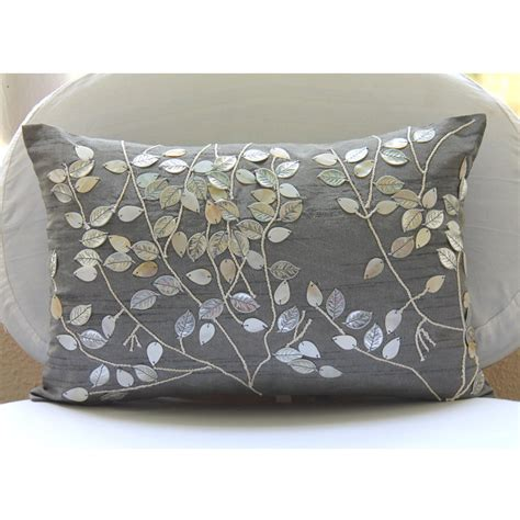 accent sofa pillows decorative oblong lumbar rectangle throw pillow cover accent