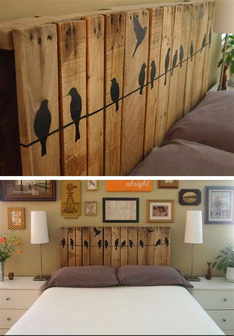bedroom ideas on pinterest headboard ideas plank cabecero de palet mi casa inventada