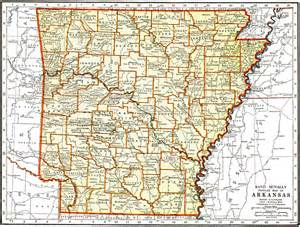 arkansas state map images