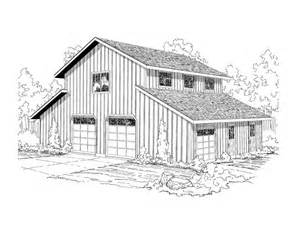Barn Plans With Loft Barn Plan Outbuilding Plan Or Barn Plan With Storage And