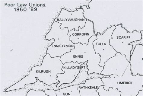 Clare County Records Clare Places Poor Unions