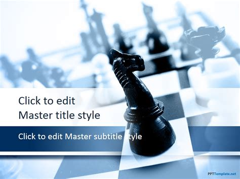 it powerpoint templates free free chess ppt template