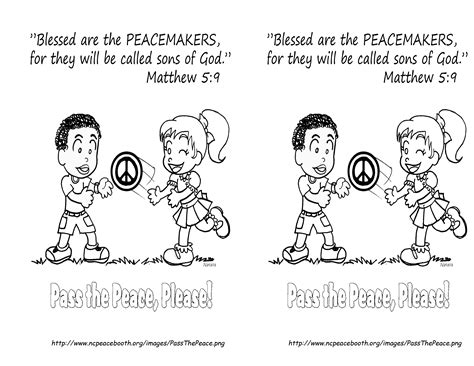 Coloring Page Matthew 5 by Fearfully And Wonderfully Made We Fight The Fight